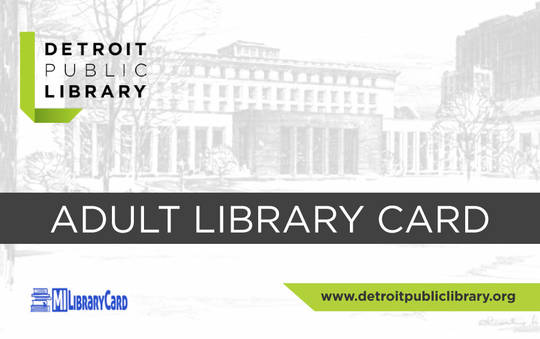 Adult Library Card